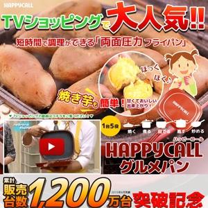 ハッピーコールの両面焼きフライパン グルメパン