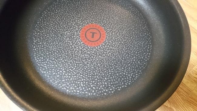 ティファール フライパンの表面