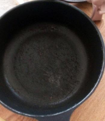 レミパン調理面の焦げ付き